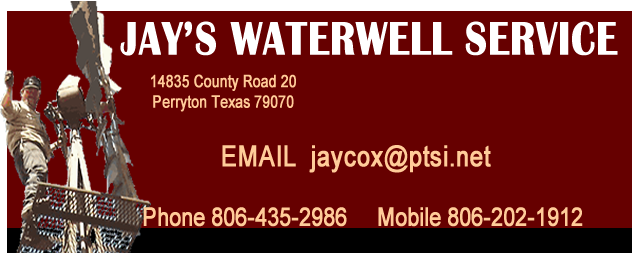 Jay's Water Well Service  Perryton Tx